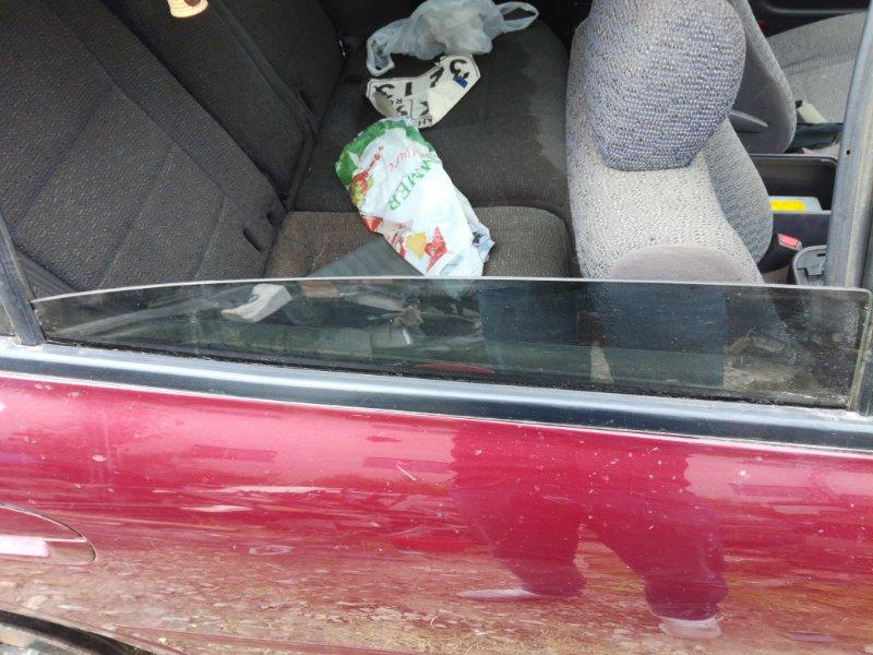 Стекло дверное Mitsubishi Galant 7 ХЭТЧБЕК 5ДВ. 2.0 1992 заднее правое (б/у)