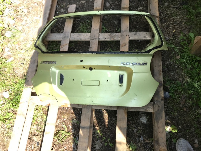 Крышка багажника Chevrolet Spark (б/у)