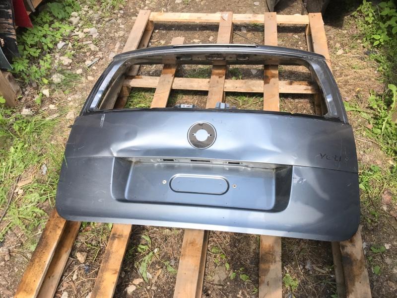 Крышка багажника Skoda Yeti (б/у)