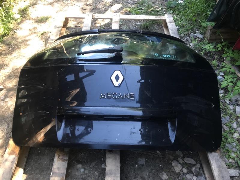 Крышка багажника Renault Megane 2 (б/у)