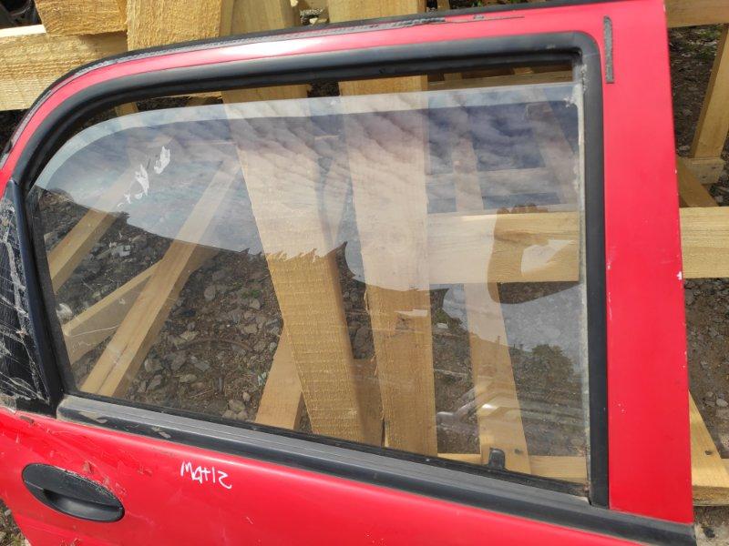 Стекло дверное Daewoo Matiz заднее правое (б/у)