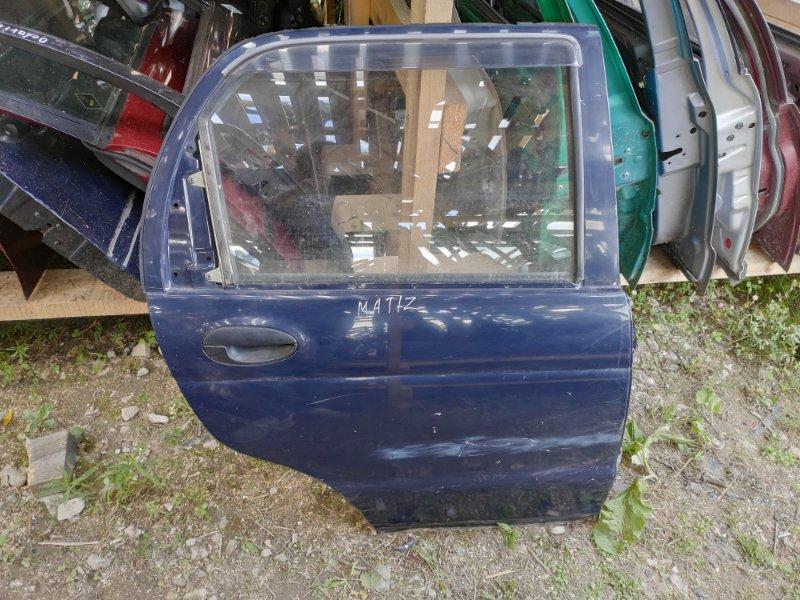 Дверь Daewoo Matiz задняя правая (б/у)