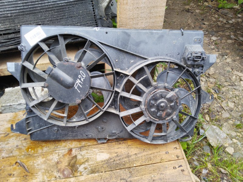 Диффузор радиатора Ford Mondeo 2 (б/у)