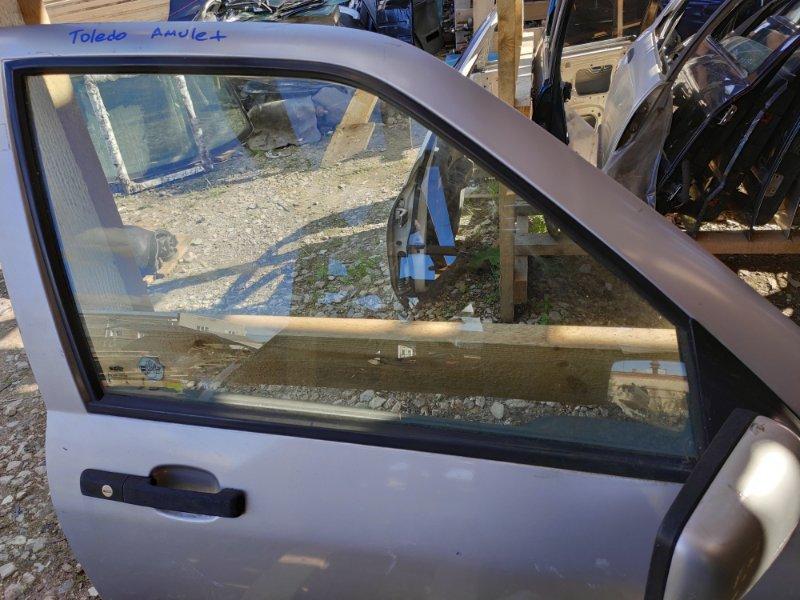 Стекло дверное Seat Toledo переднее правое (б/у)
