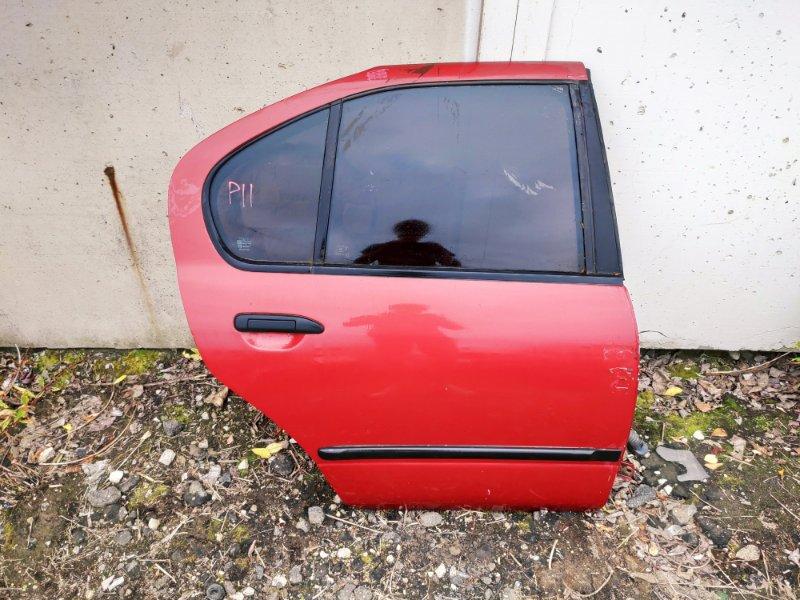Дверь Nissan Primera P11 задняя правая (б/у)