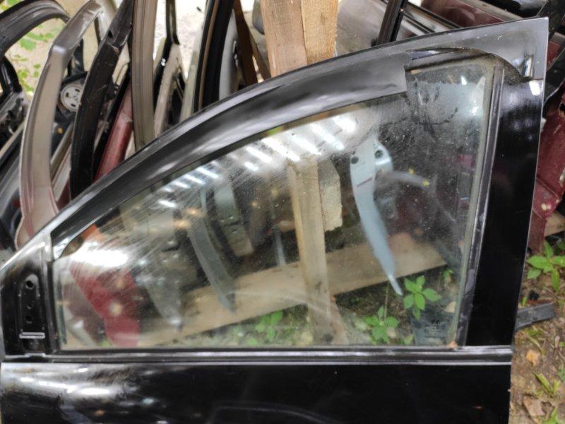 Стекло дверное Hyundai Matrix переднее левое (б/у)