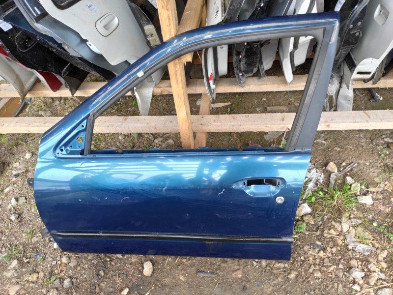 Дверь Nissan Primera P11 передняя левая (б/у)