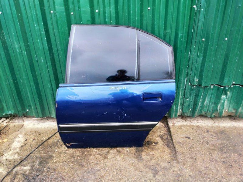 Дверь Opel Omega A задняя левая (б/у)