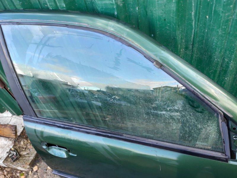 Стекло дверное Nissan Primera P11 переднее правое (б/у)
