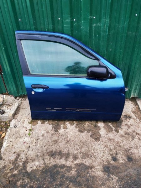 Дверь Nissan Primera P11 передняя правая (б/у)
