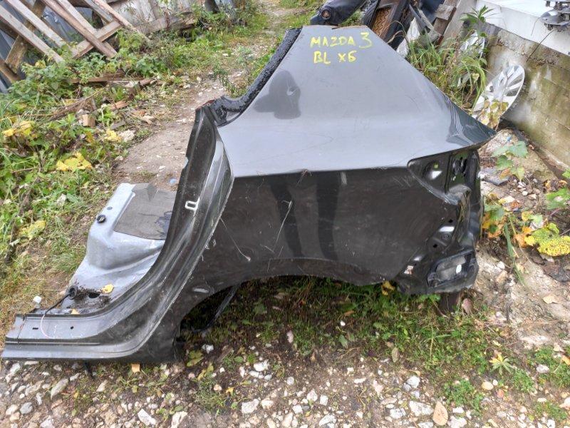 Крыло Mazda 3 BL заднее левое (б/у)