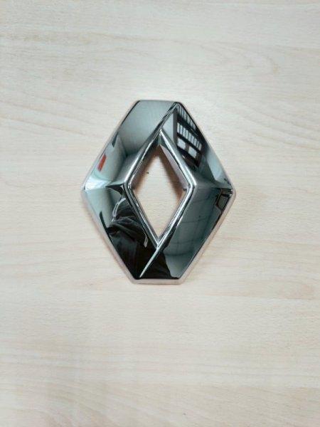 Эмблема Renault Logan 2 2014 передняя