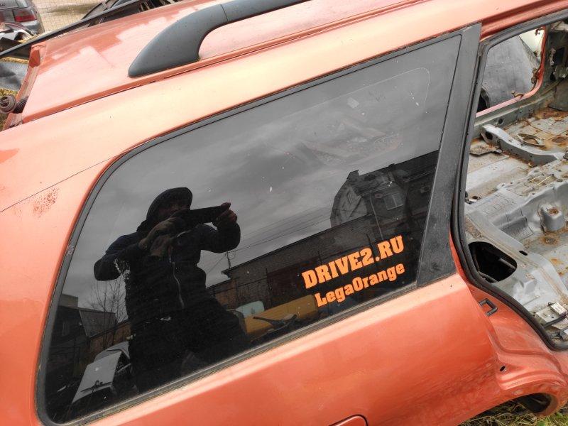 Стекло кузовное Mitsubishi Legnum заднее правое (б/у)