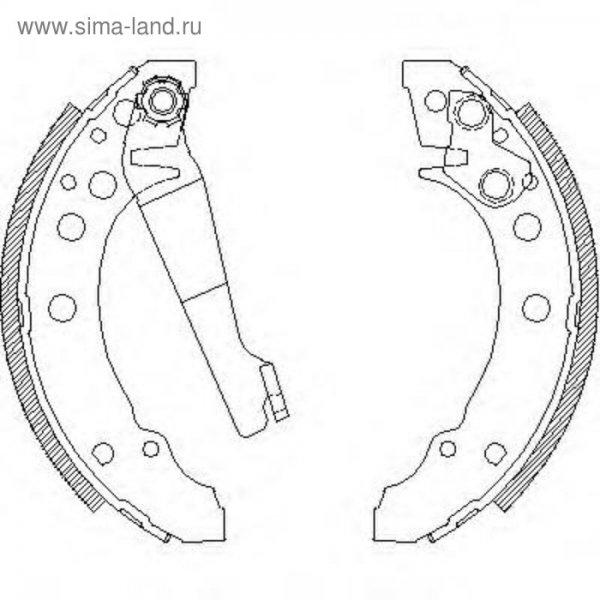 Колодки тормозные Audi 80