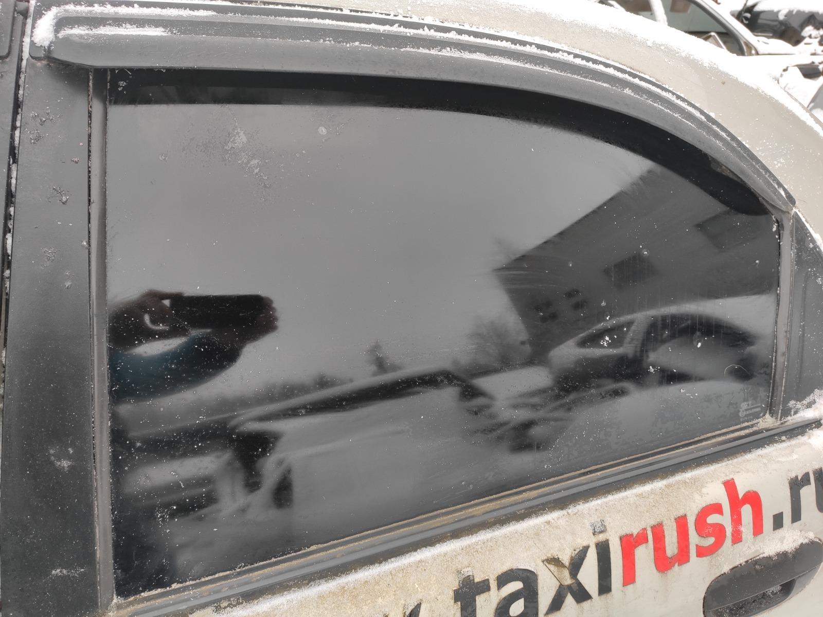 Стекло дверное Chevrolet Lanos СЕДАН 1.5 2005 заднее левое (б/у)