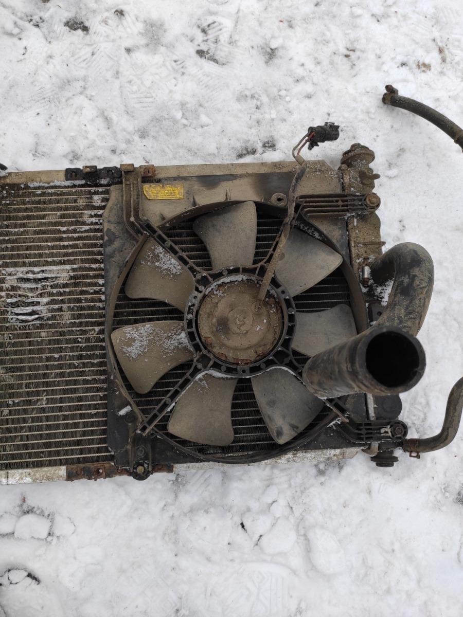 Диффузор радиатора Chevrolet Lanos СЕДАН 1.5 2005 (б/у)