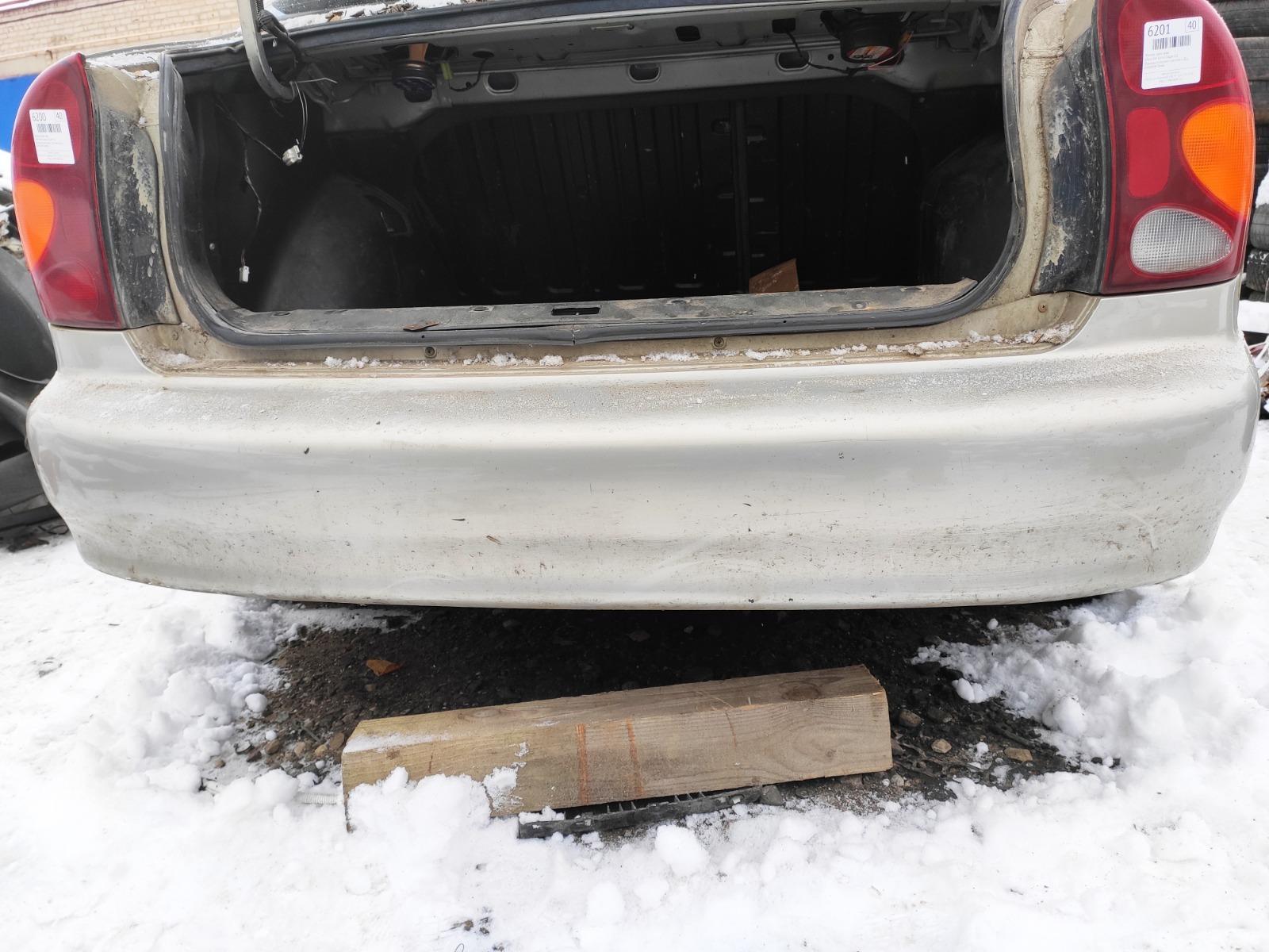 Бампер Chevrolet Lanos СЕДАН 1.5 2005 задний (б/у)