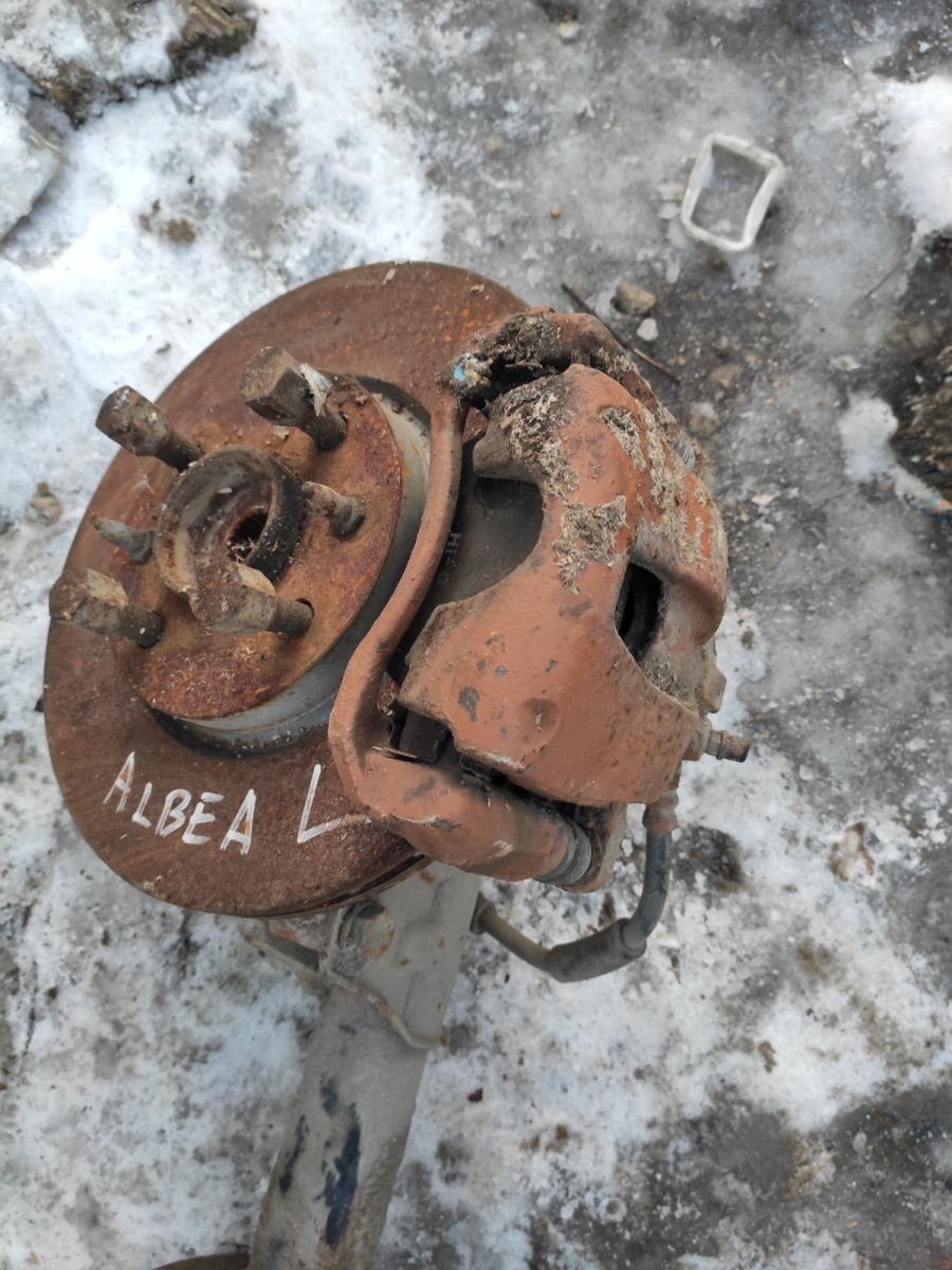 Тормозной суппорт Fiat Albea передний левый (б/у)