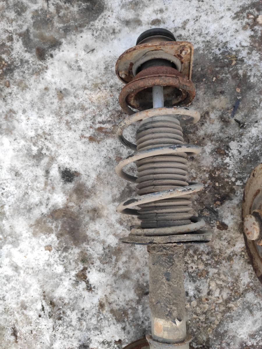 Стойка в сборе Fiat Albea передняя левая (б/у)