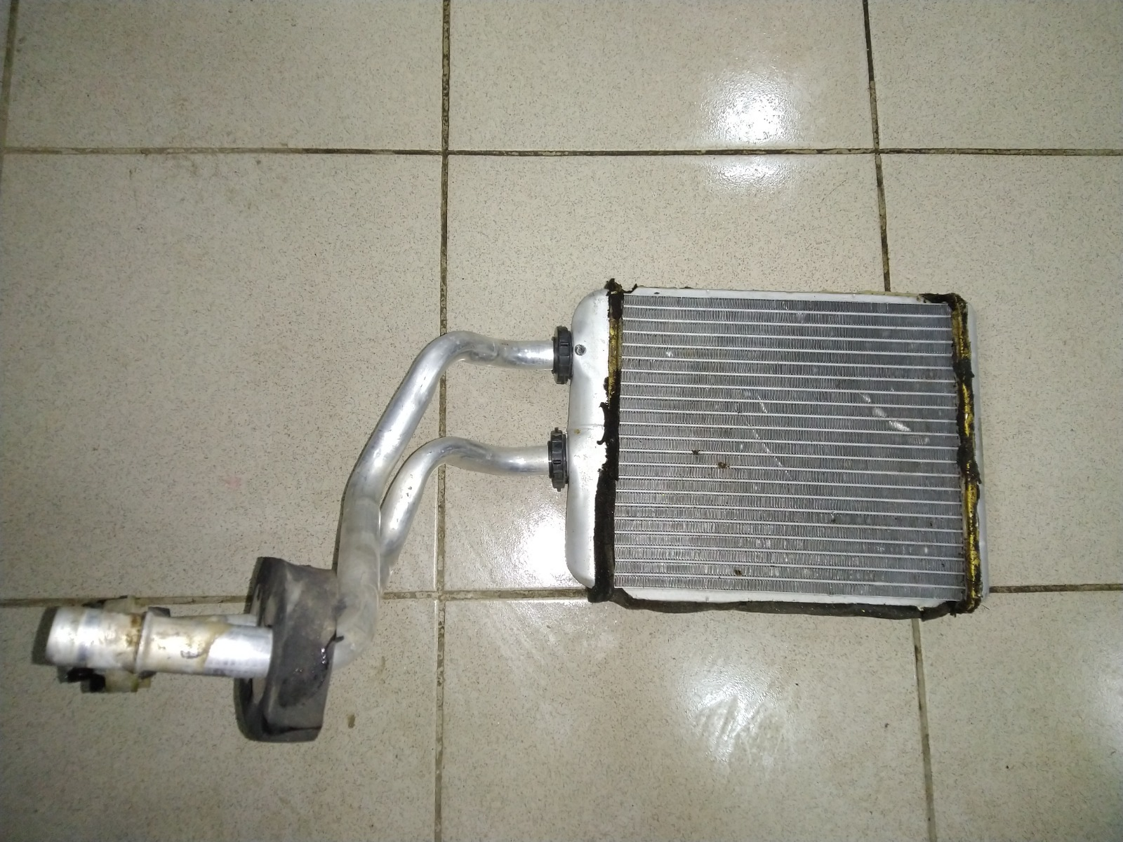 Радиатор печки, радиатор отопителя Opel Astra H Z16XER 2004 (б/у)