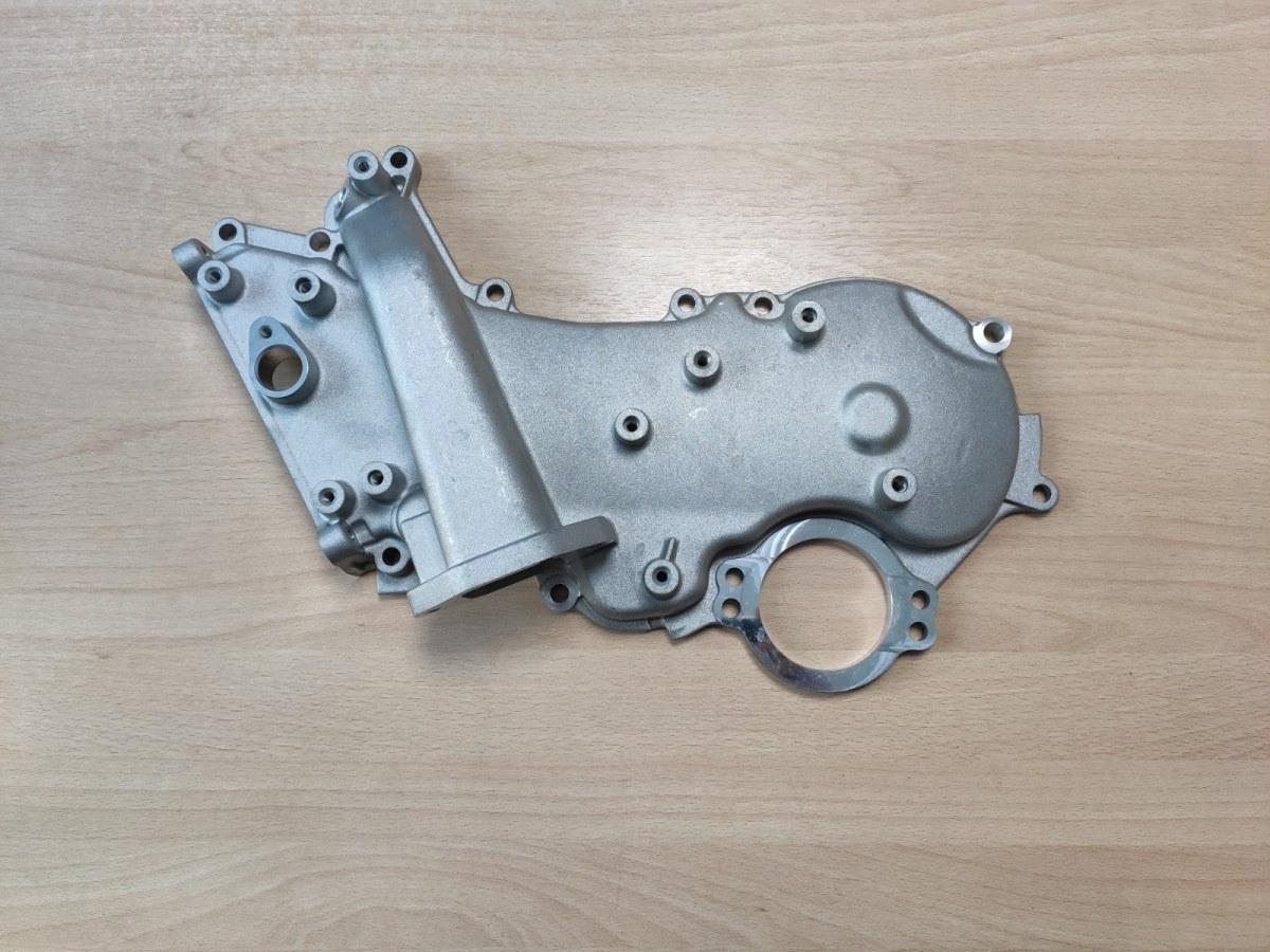 Крышка двигателя Nissan Cabstar ZD30 передняя (б/у)