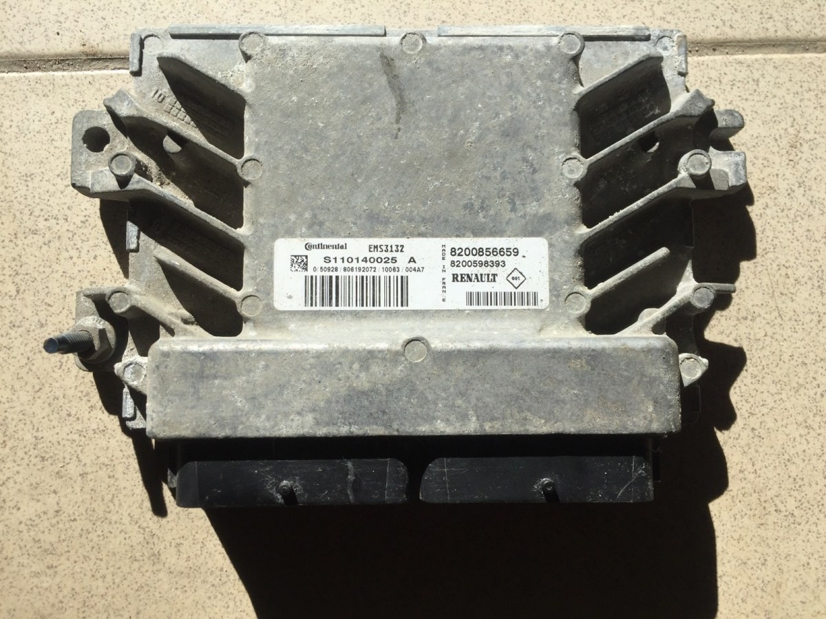 Блок управления двигателем Renault Logan 2005 (б/у)