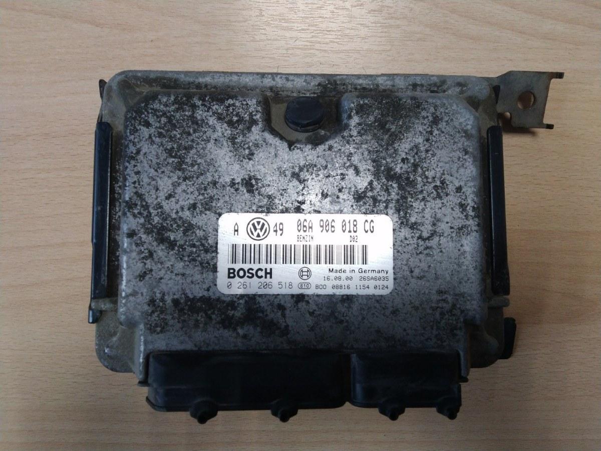 Электронный блок управления Skoda Octavia 1U AGU 1996 (б/у)
