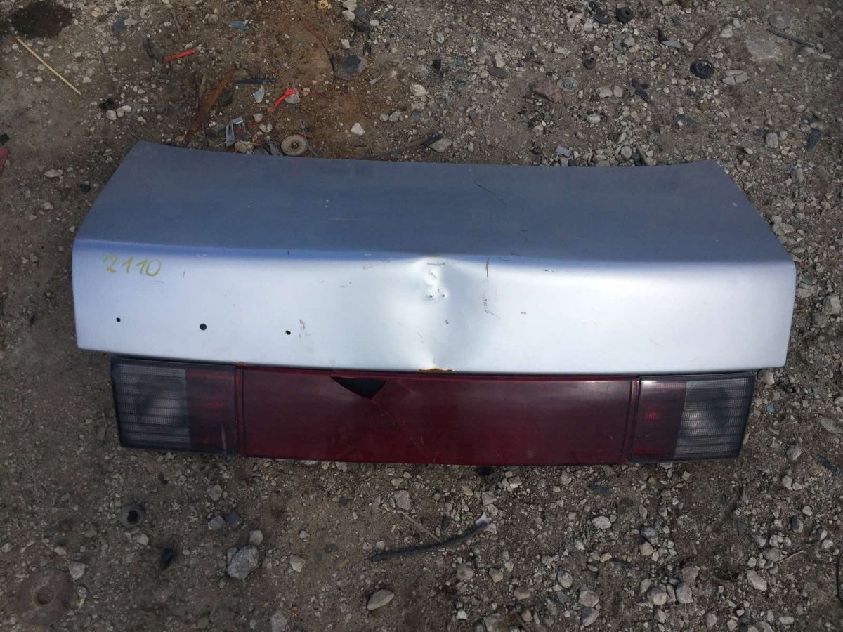 Крышка багажника Lada (Ваз) 2110 СЕДАН 1.6 2005 задняя (б/у)