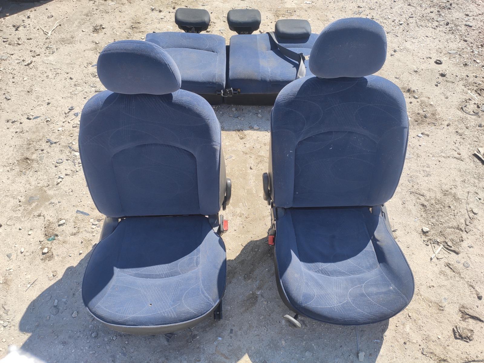 Комплект сидений Peugeot 206 ХЭТЧБЕК 5ДВ. 1.4 1998 (б/у)