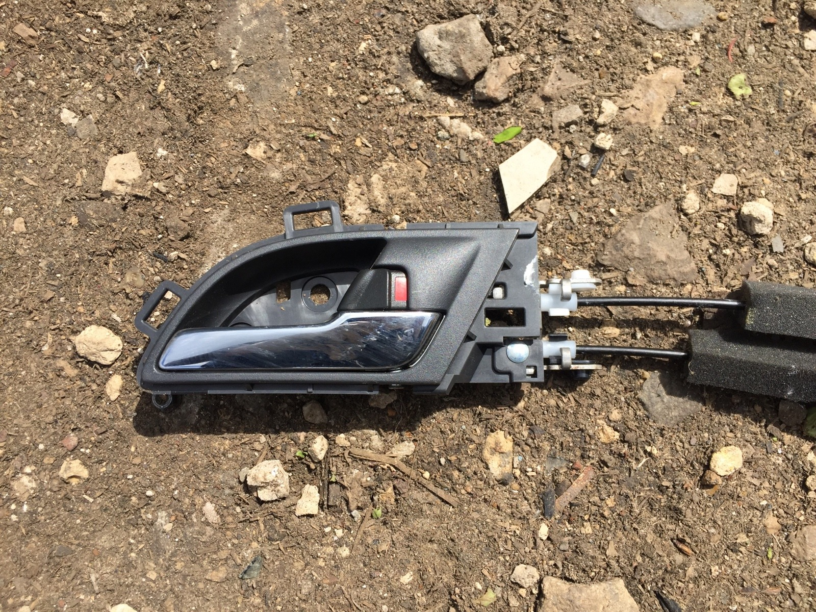 Ручка двери внутренняя Honda Cr-V 3 2007 передняя правая (б/у)