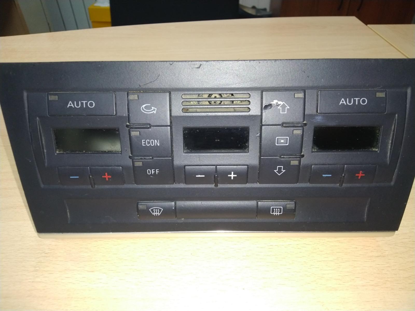 Блок управления климатической установкой Audi A4 B6 2004 (б/у)