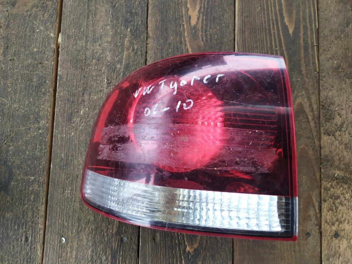 Фонарь Volkswagen Touareg ВНЕДОРОЖНИК 5 ДВ. 2008 задний левый (б/у)
