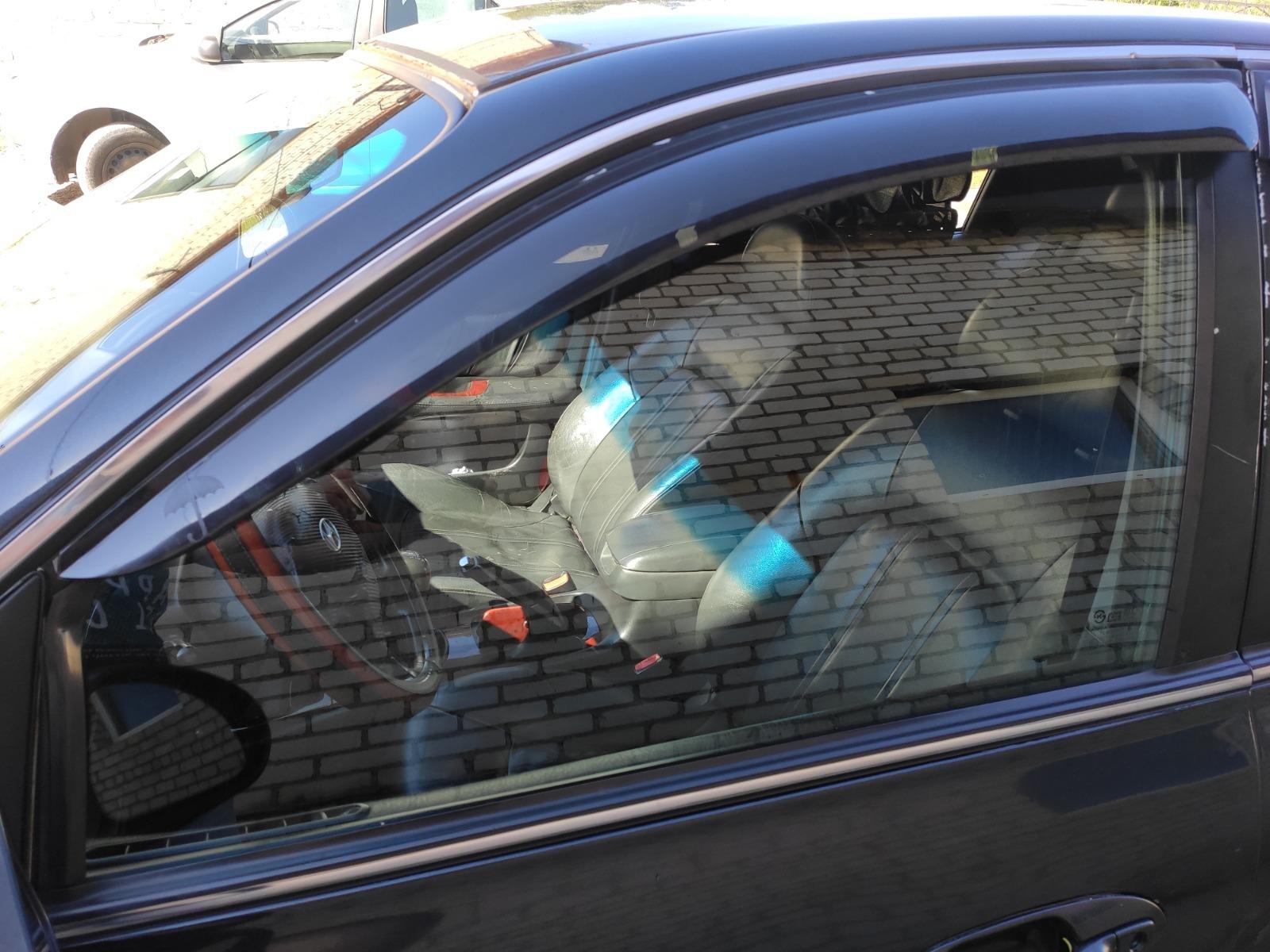 Стекло дверное Hyundai Sonata Тагаз EF 2.0 переднее левое (б/у)