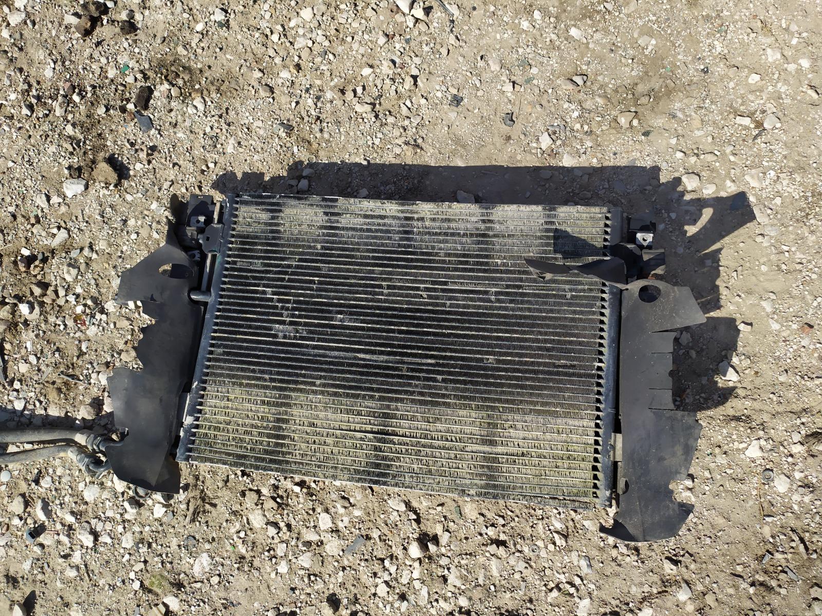 Радиатор охлаждения Audi A4 1.9 2002 (б/у)