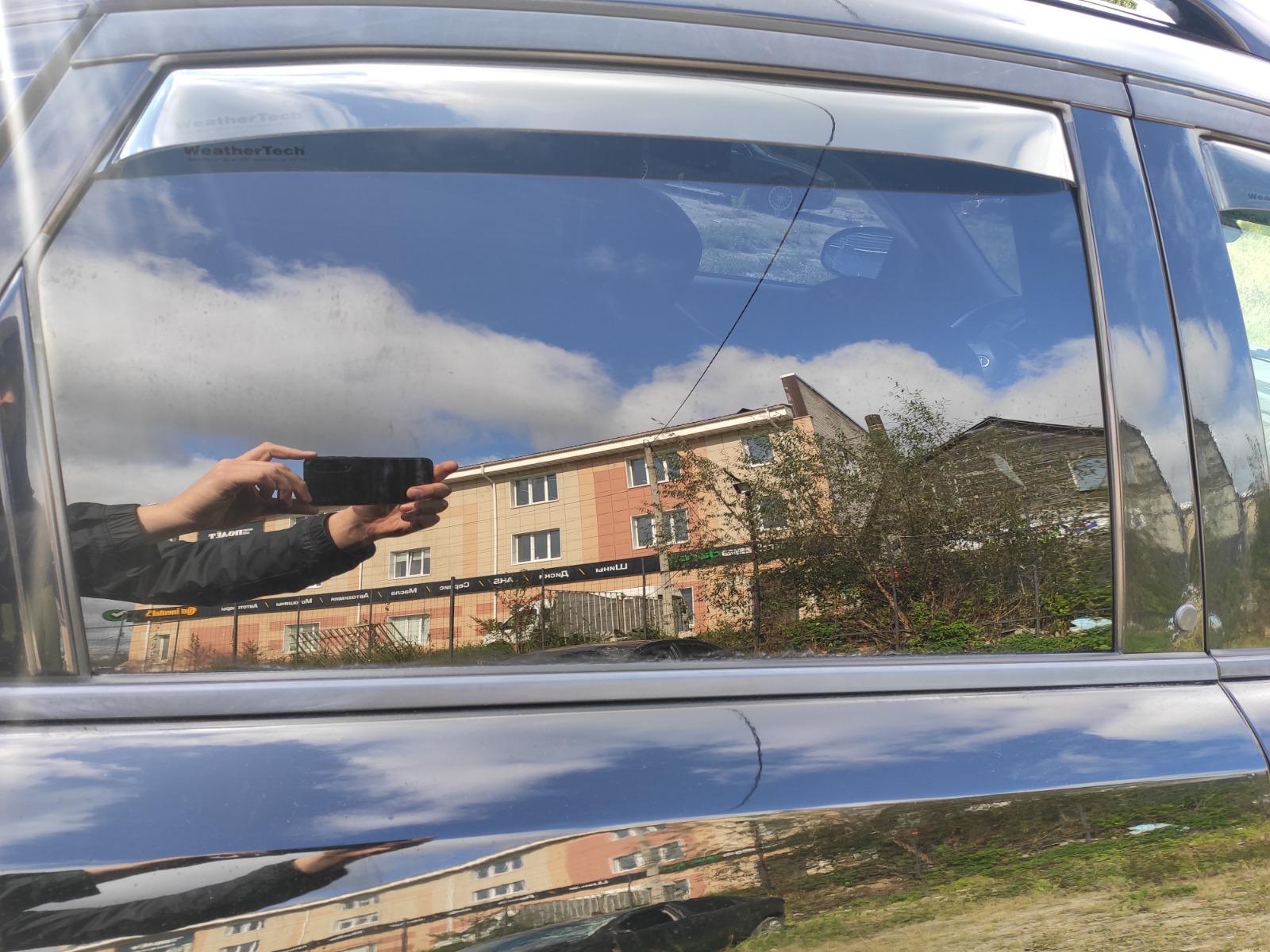 Стекло дверное Infiniti Fx35 S50 3.5 2004 заднее правое (б/у)