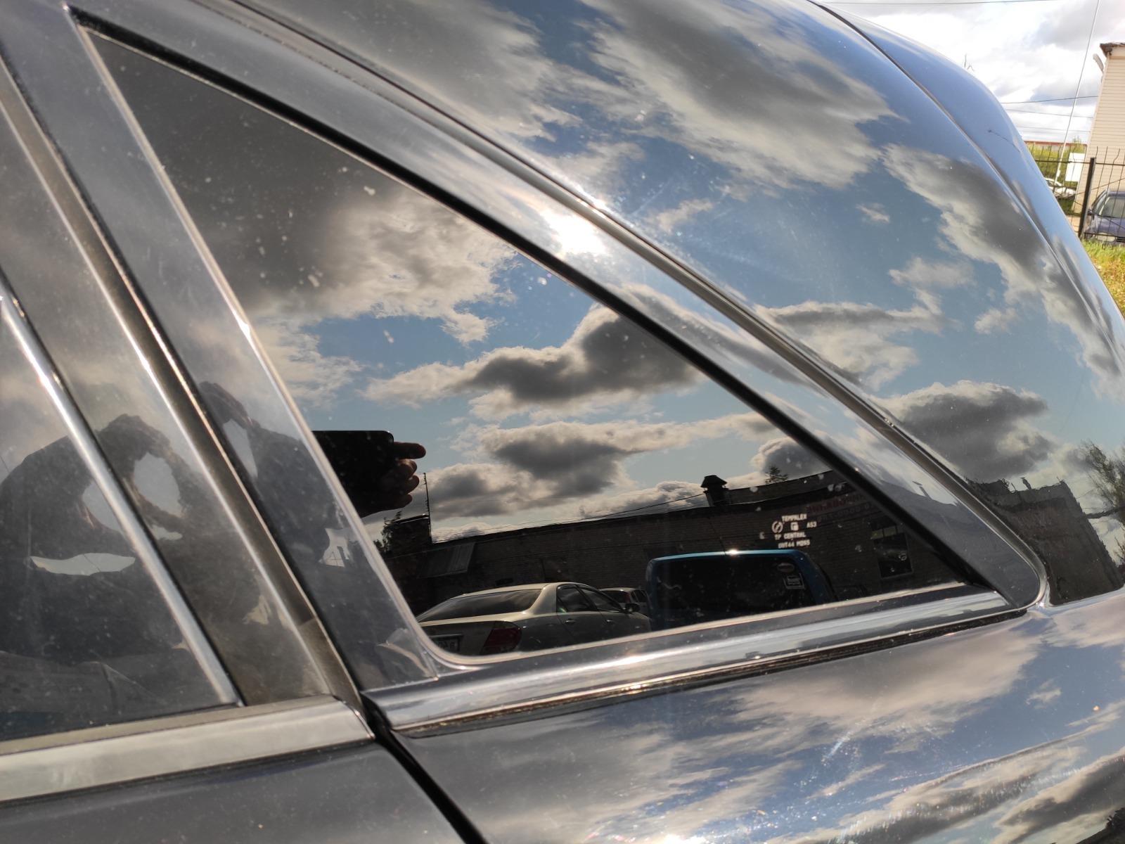 Стекло кузовное Infiniti Fx35 S50 3.5 2004 заднее левое (б/у)