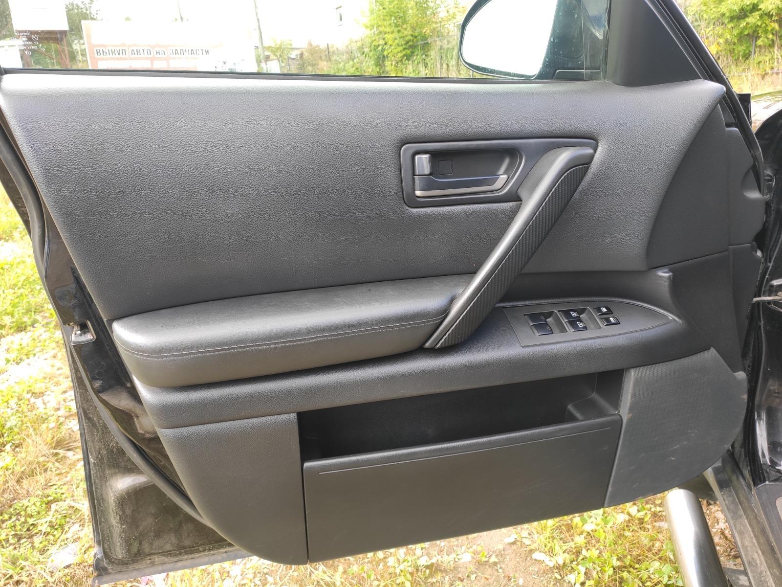 Обшивка двери Infiniti Fx35 S50 3.5 2004 передняя левая (б/у)
