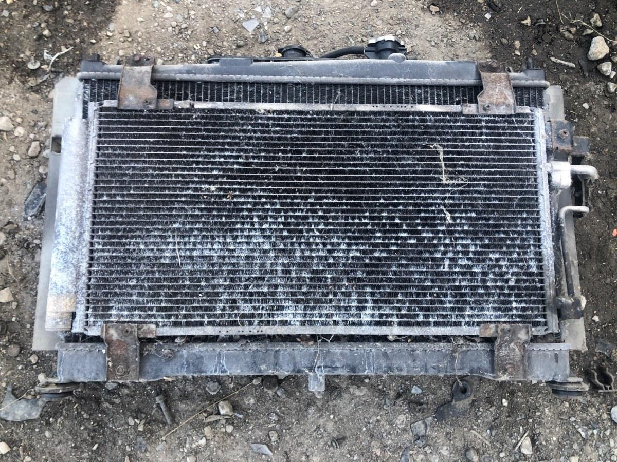 Радиатор охлаждения двигателя Mazda 6 GG 2002 (б/у)