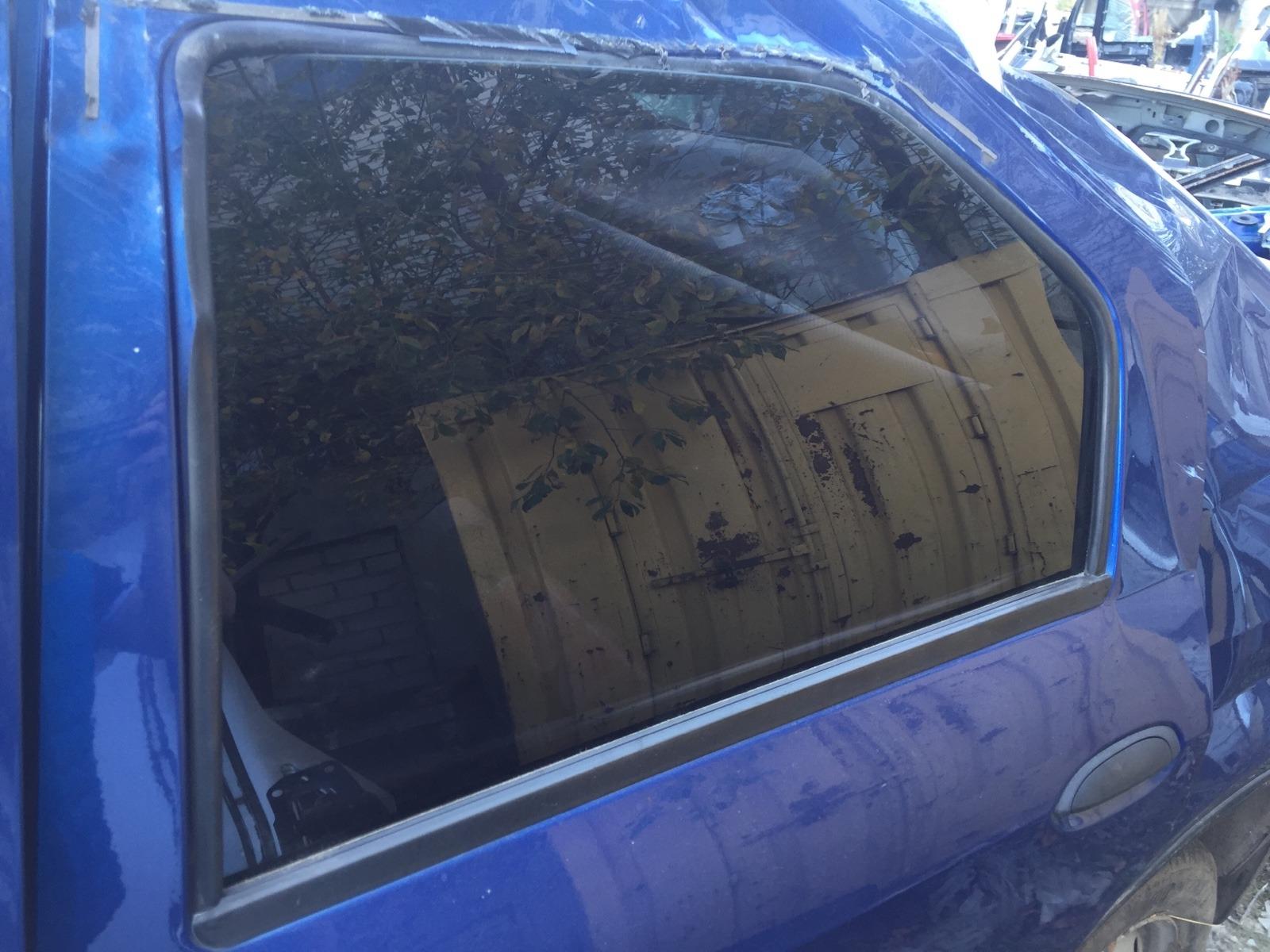 Стекло дверное Renault Logan СЕДАН 1.4 2005 заднее левое (б/у)