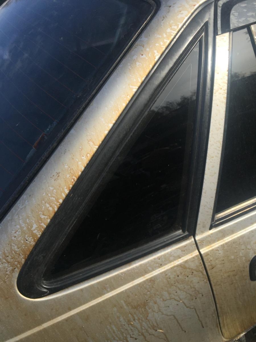 Стекло кузовное Daewoo Nexia N100 1995 заднее правое (б/у)