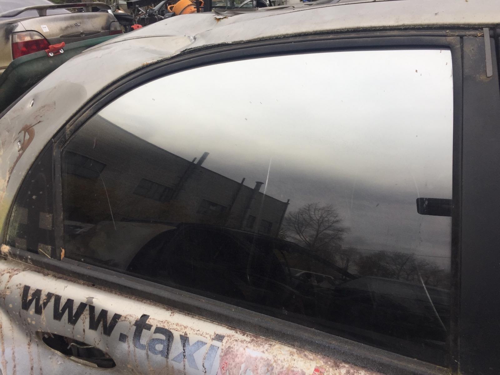 Стекло дверное Chevrolet Lanos T150 1.5 2005 заднее правое (б/у)