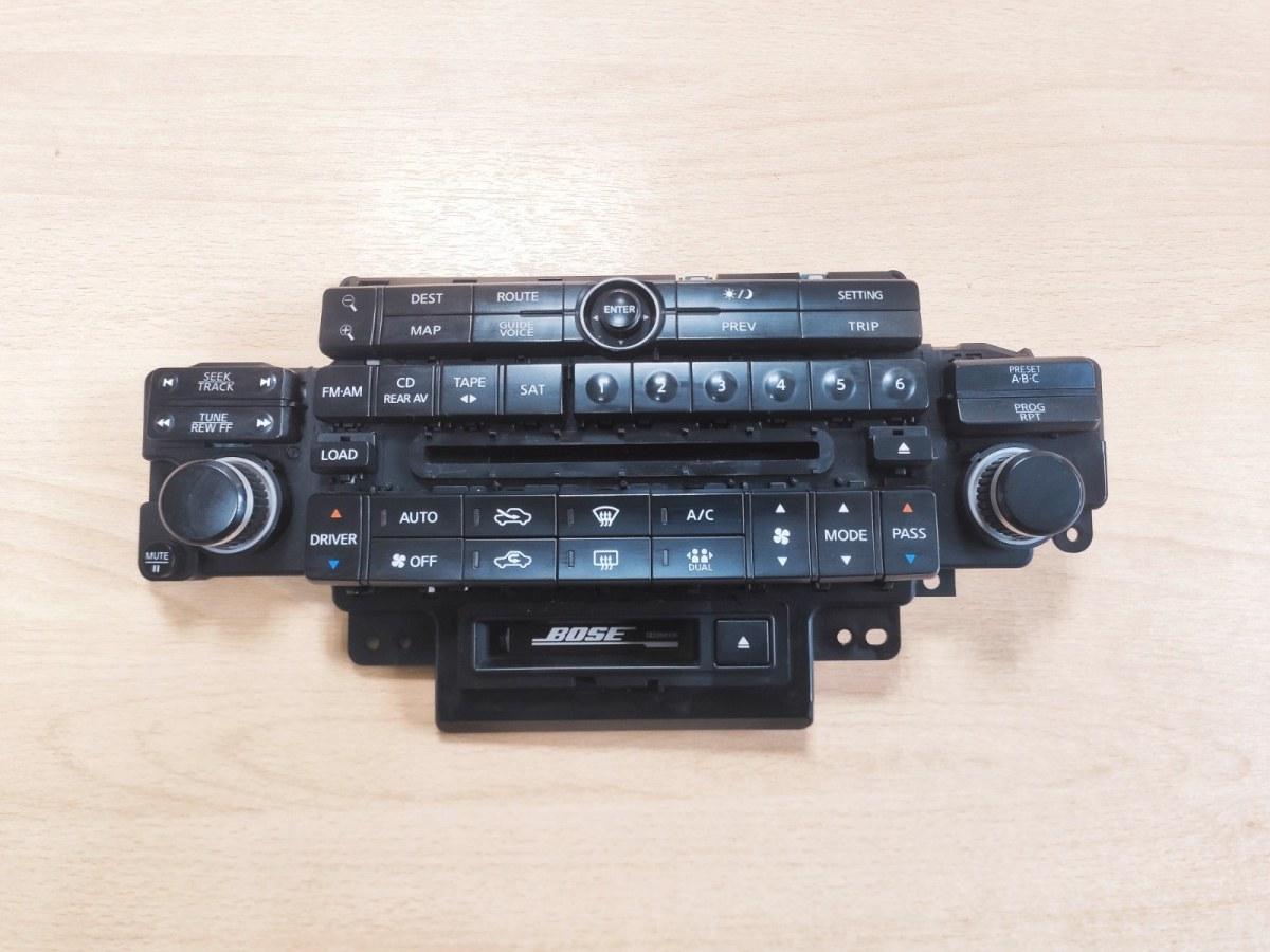 Блок управления климатической установкой Infiniti Fx35 S50 3.5 2004 (б/у)