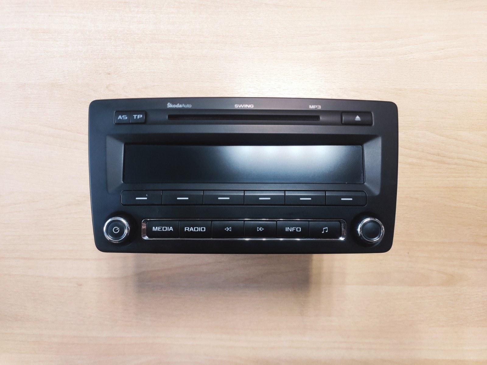 Головное устройство Skoda Octavia A5 (б/у)