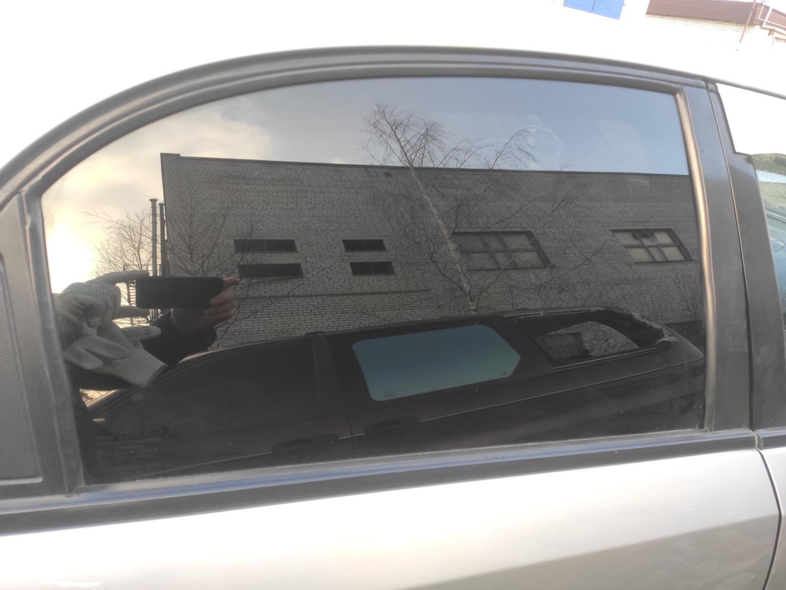 Стекло дверное Chevrolet Lacetti ХЭТЧБЕК 5ДВ. 1.6 2006 заднее правое (б/у)