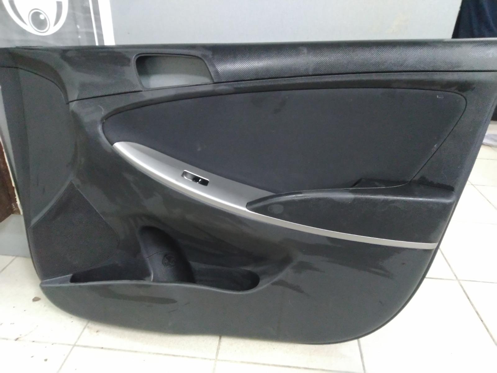 Обшивка двери Hyundai Solaris СЕДАН 2010 передняя правая (б/у)