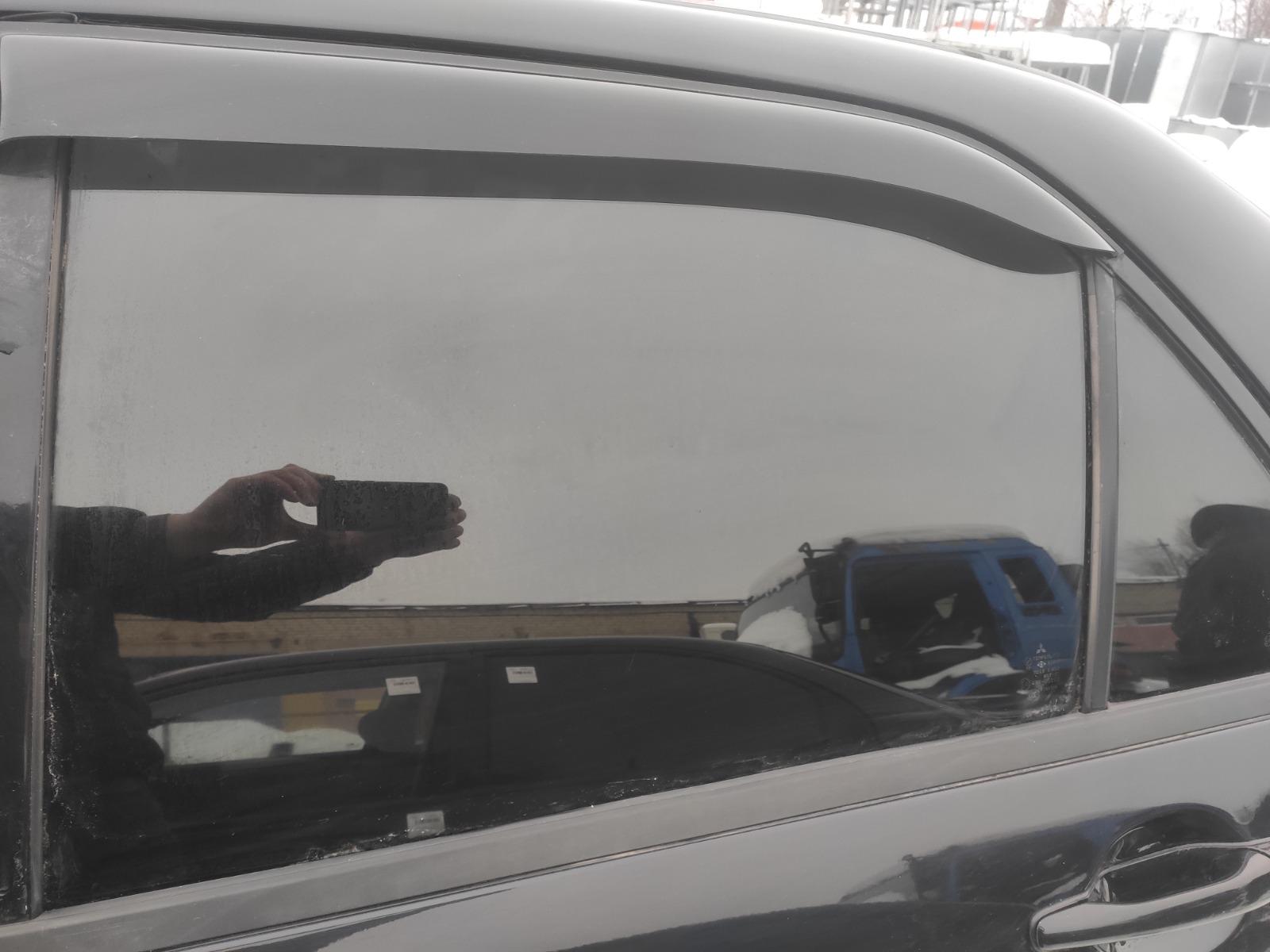 Стекло дверное Mitsubishi Lancer 9 СЕДАН 1.6 2006 заднее левое (б/у)