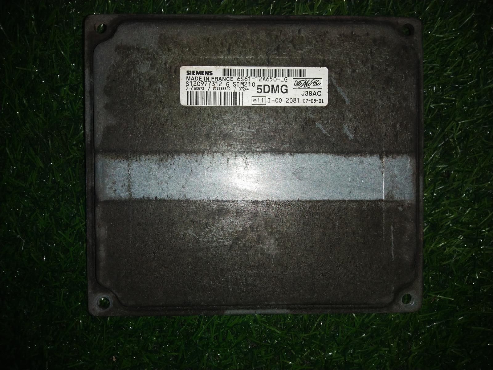 Блок управления двигателем Ford Fiesta ХЭТЧБЕК 5ДВ. 1.6 2007 (б/у)