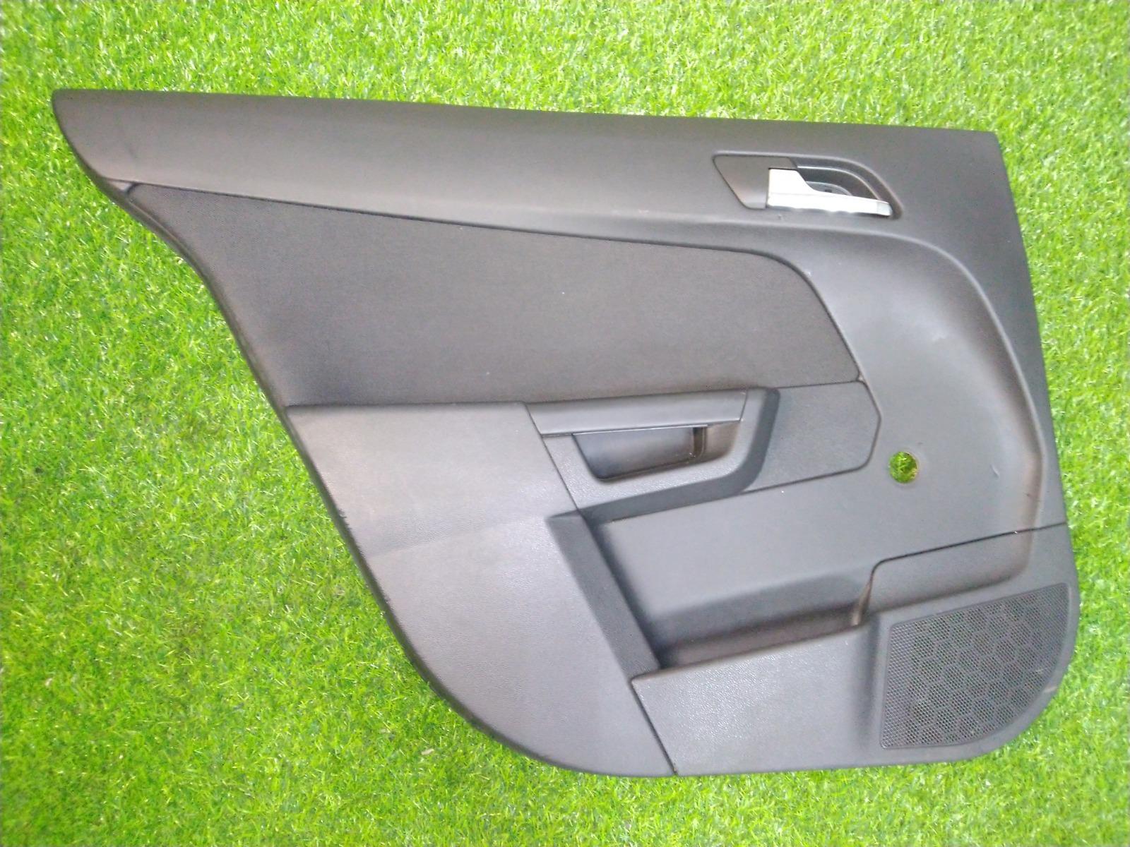 Обшивка двери Opel Astra H СЕДАН 1.8 2008 задняя левая (б/у)