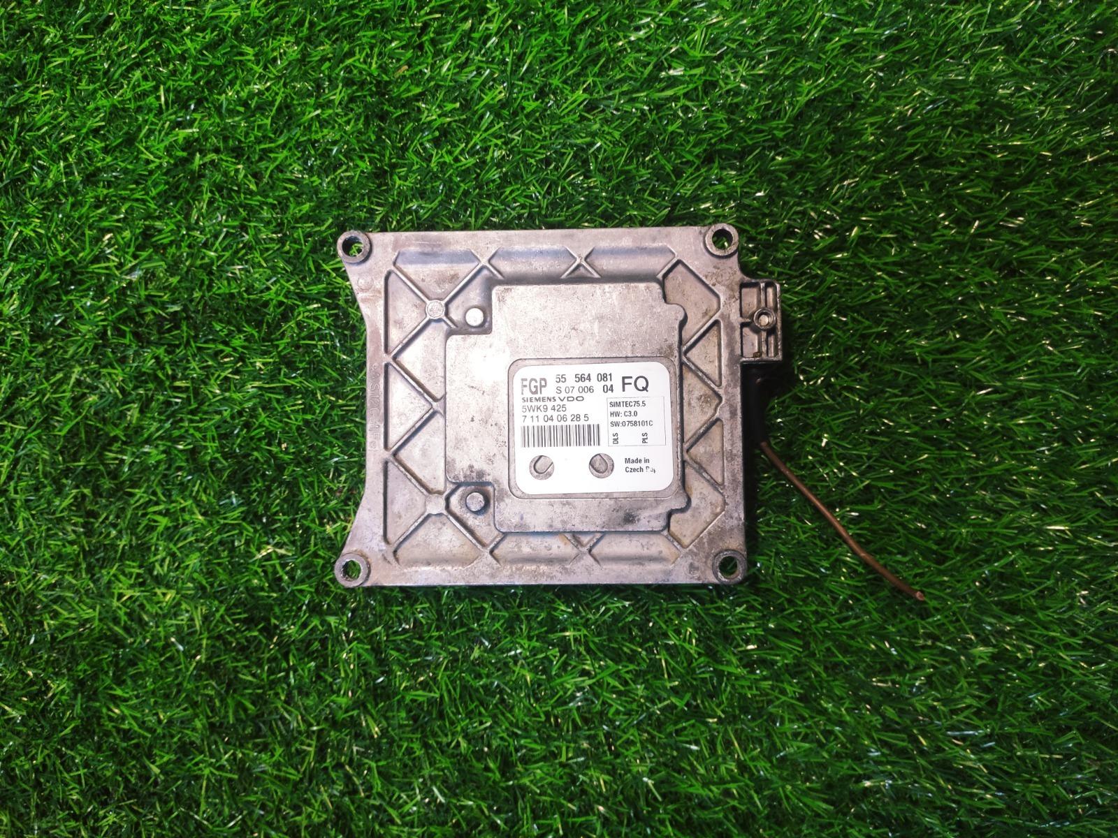 Электронный блок управления Opel Astra H 1.8 (б/у)