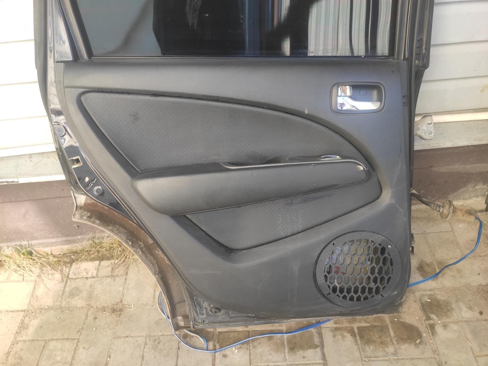 Обшивка двери Mitsubishi Outlander CU5W 2.4 2005 задняя левая (б/у)